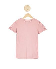 Toddler Boys The Cruz Short Sleeve Long Line T-Shirt