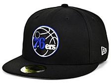 Philadelphia 76ers Court Banner 59FIFTY Cap