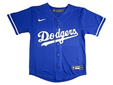 Youth Los Angeles Dodgers Official Blank Jersey