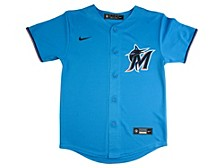 Youth Miami Marlins Official Blank Jersey