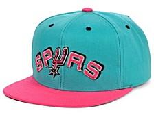San Antonio Spurs Hardwood Classic Reload Snapback Cap