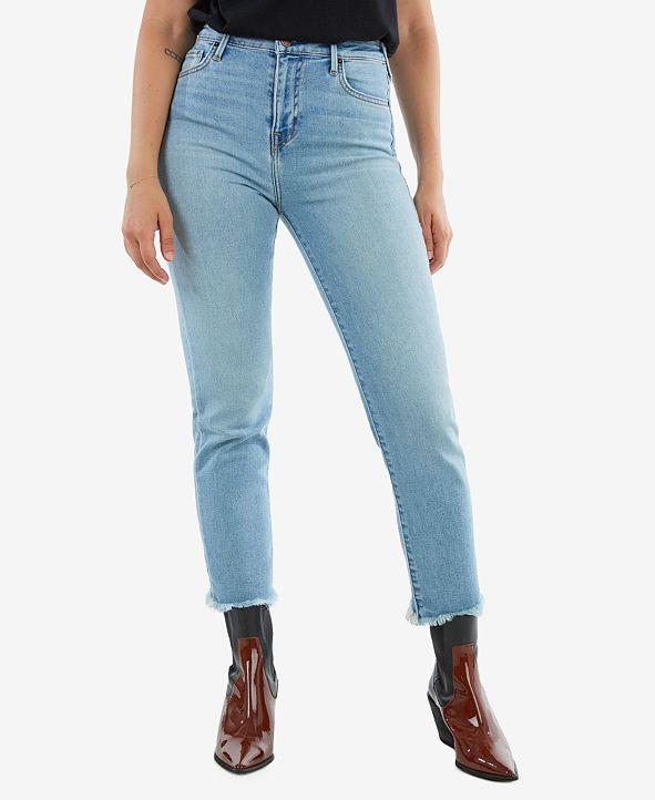 True Religion Women's Starr High Rise Straight Fit Jean