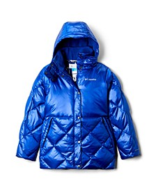 Big Girls Forest Park Down Hooded Jacket