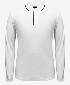 Men's Tipped Collar Polo, Created for Macy's