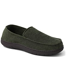 Men's Corduroy Moc-Toe Slippers