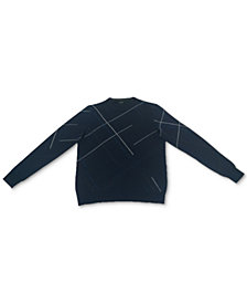 Alfani Men's Crosshatch Sweater, Created for Macy's