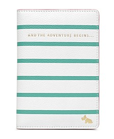 Beach Rise Leather Passport Cover
