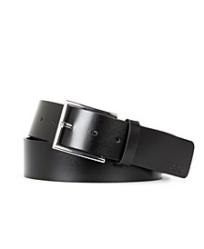 Men's Giaspo Smooth Leather Belt