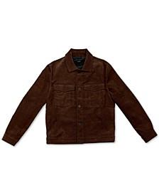 Men's Corduroy Trucker Jacket, Created for Macy's