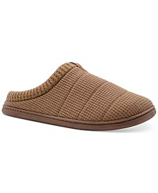 Men's Marled Knit Clog Slippers