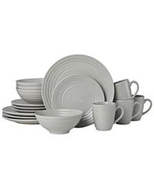 sophia 16 pc dinnerware set, service for 4