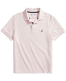 Men's Slim-Fit Solid Deck Polo