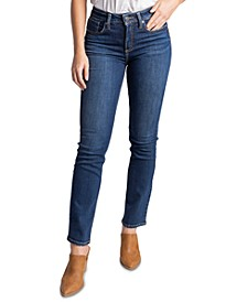 Avery High-Rise Straight-Leg Jeans