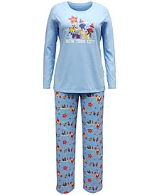 Matching Women's 'Macy's Thanksgiving Day Parade' Family Pajama Set, Created for Macy's