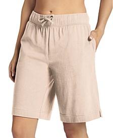 Cotton Bermuda Pajama Shorts
