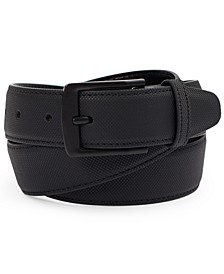 Men's Feather Edge Faux Leather Belt, Created for Macy's