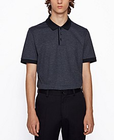 BOSS Men's Piket Regular-Fit Polo Shirt