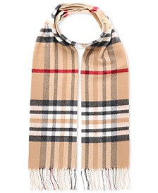 Men's Exploded Plaid Cashmink Scarf
