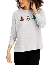 Petite Holiday Sweatshirt, Created for Macy's