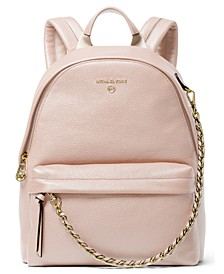 Slater Medium Leather Backpack