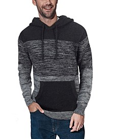 XRAY Men's Color Blocked Hooded Sweater
