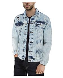 Men's Slim Washed Denim Jacket