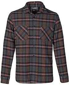 Men's Cotton Plaid Shirt