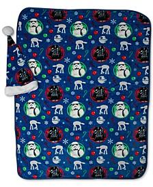 2-Pc. Travel Blanket & Santa Hat Set