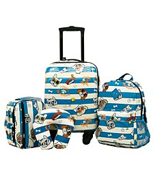 Traveler's Club Kid's 5PC Luggage Set