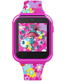 Kid's Trolls Multicolor Silicone Strap Smart Watch 46x41mm