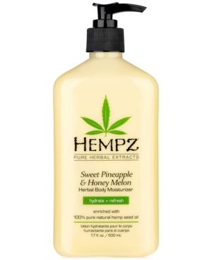 Sweet Pineapple & Honey Melon Herbal Body Moisturizer