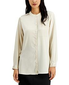Mandarin-Collar Tunic, Created for Macy's