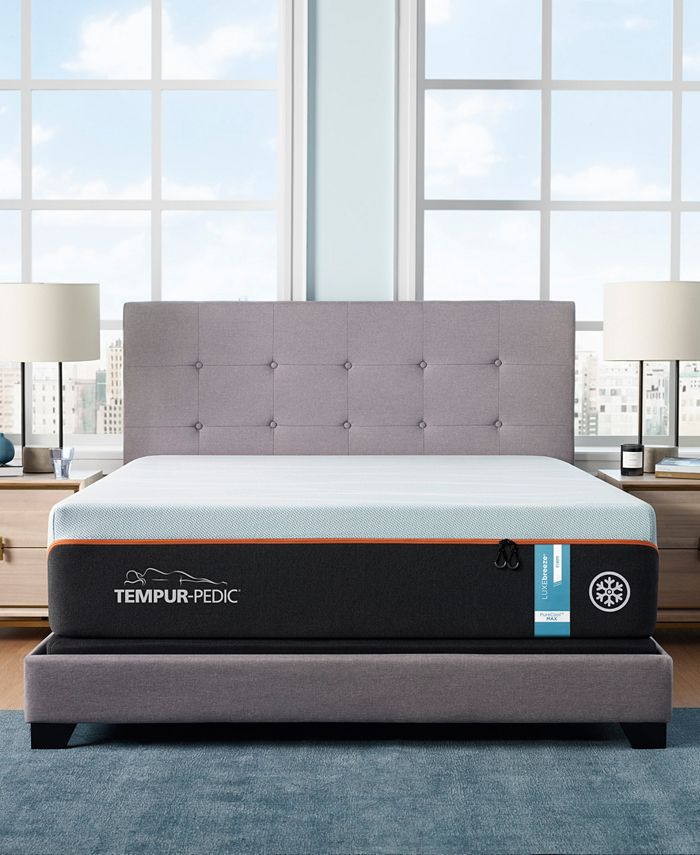 "Tempur-Pedic - TEMPUR-LUXEbreeze° 13"" Firm Mattress Set- California King"