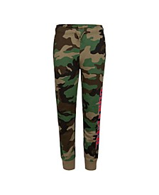 Big Boys Camo Printed Joggers