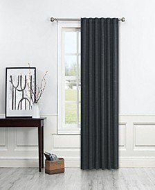 "Paige Light Filtering Back Tab Curtain Panel By Nefeli, 96"" x 52"""