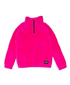 Big Girls Quarter Zip Popover Jacket