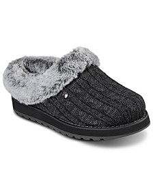 Women's Bobs Keepsakes - Ice Angel Faux Fur Slippers from Finish Line
