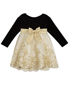 Baby Girls Velvet Dress