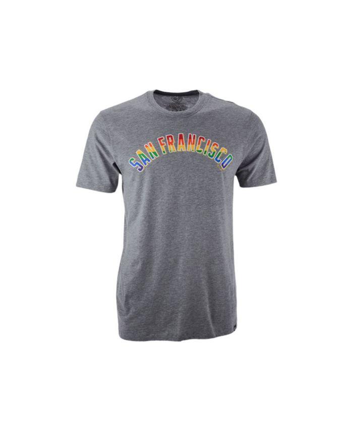 '47 Brand San Francisco Giants Men's Pride Wordmark Club T-Shirt & Reviews - Sports Fan Shop By Lids - Men - Macy's
