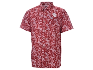 Oklahoma Sooners Men's Super Slack Tide Button Up Shirt