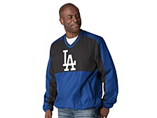 Los Angeles Dodgers Men's High Heat V-neck Pullover