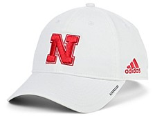 Nebraska Cornhuskers Coaches Sideline Adjustable Cap