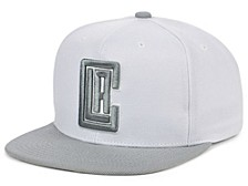 Los Angeles Clippers Cool Gray Snapback Cap