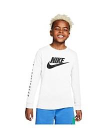 Sportswear Big Boys Futura Long Sleeves T-shirt