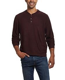 Men's Soft Touch Henley Sweater