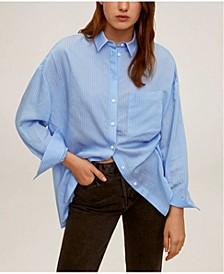 Women's Oversize Flowy Shirt