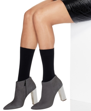 Women's 2-Pk. Opaque Mid-Calf Socks