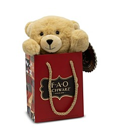 Toy Plush Bear in a Bag 7inch