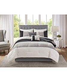 Hudson 9-Pc. California King Comforter Set