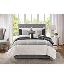 Hudson 9-Pc. California King Comforter Set